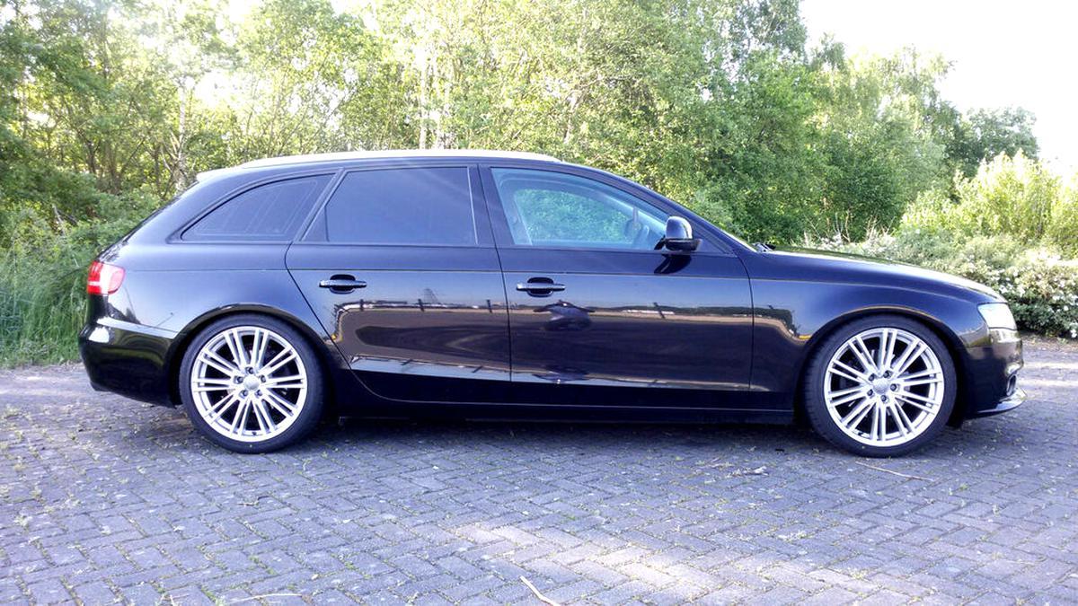 H/&R Federn 40//55mm 29059-4 Audi A4 Lim Quattro B8 Tieferlegung Sportfedern