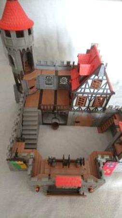 Playmobil Ritterburg Burg Ritter Ersatzteile 3665 3666 3667  3666 Treppe grau