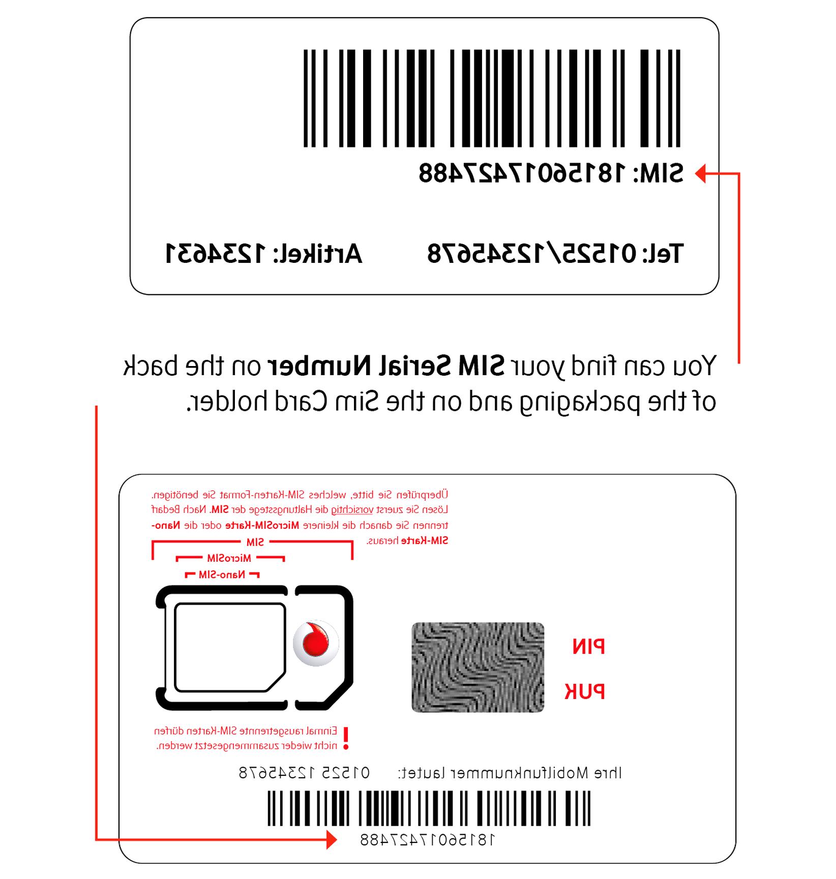 Vodafone D2 Sim Karte gebraucht kaufen! Nur 3 St. bis -70% ...