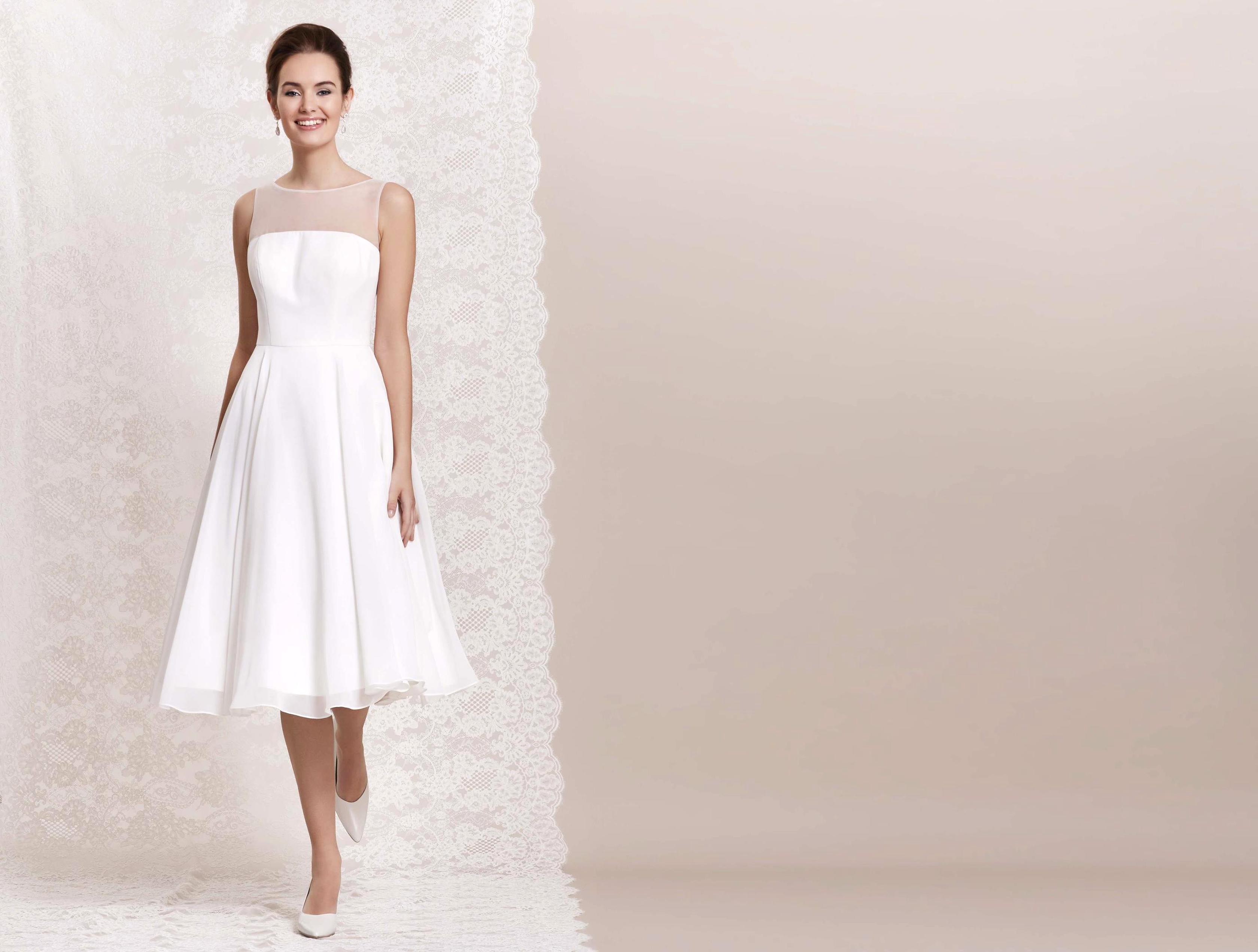 brautkleid hochzeitskleid standesamtkleid gr. 38,