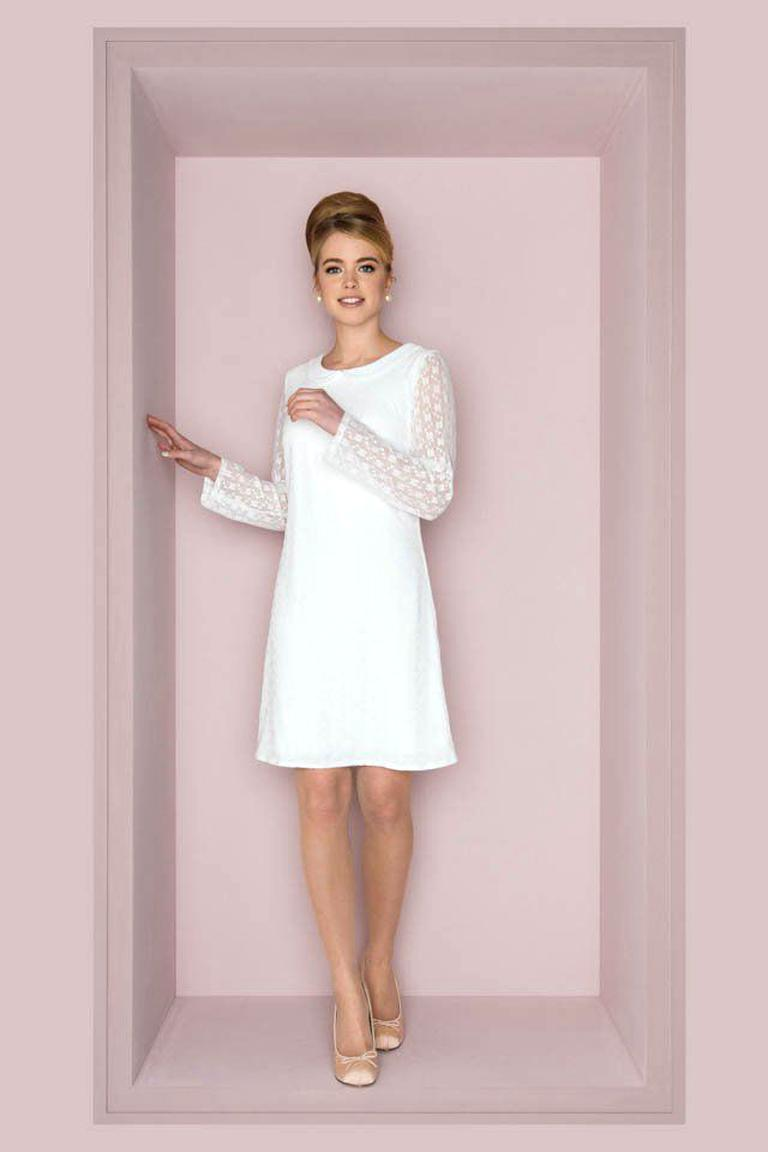 Schönes Vintage Brautkleid, Kleid Gr. S