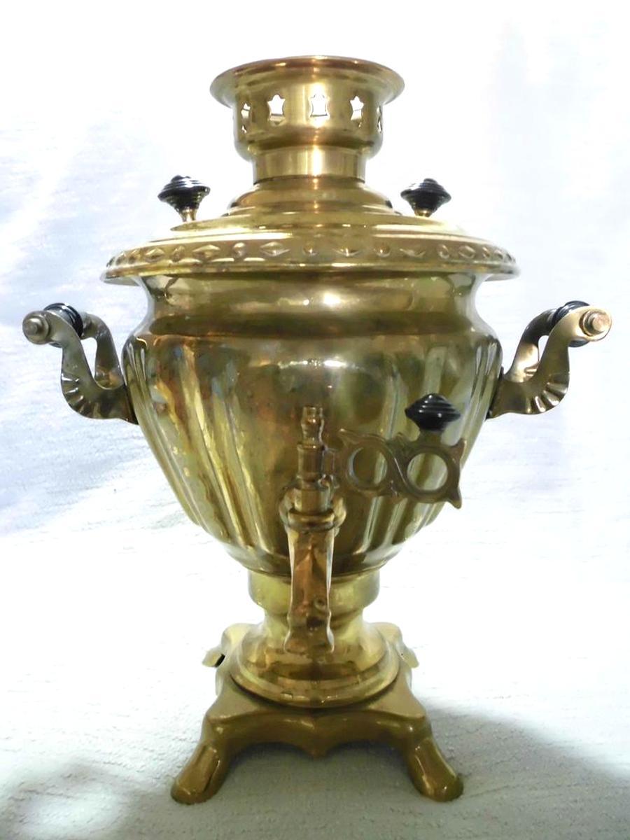 Samowar Imperia gold 3,2 L elektrisch Teekocher Wasserkocher Самовар