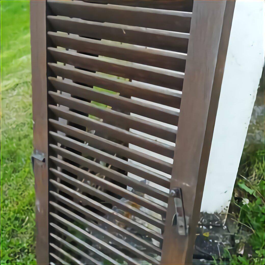 Breite 60 cm Holz gebraucht 1 Paar Fensterladen Höhe 125 cm