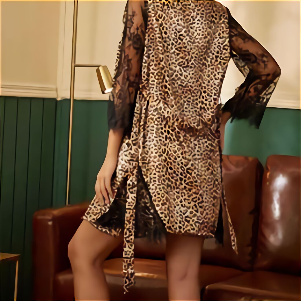 leoparden kleid gebraucht kaufen nur 3 st bis 60 günstiger