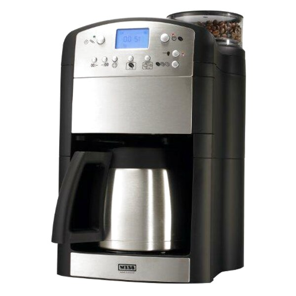 Kaffeemaschine mit Mahlwerk Edelstahl gebraucht BEEM Fresh-Aroma-Perfect V2