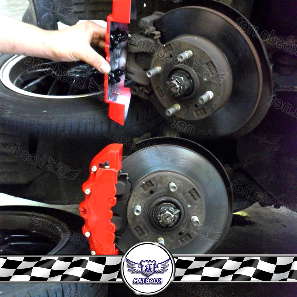 Gebraucht 4 Stücke Auto Bremssattel Abdeckung 3d