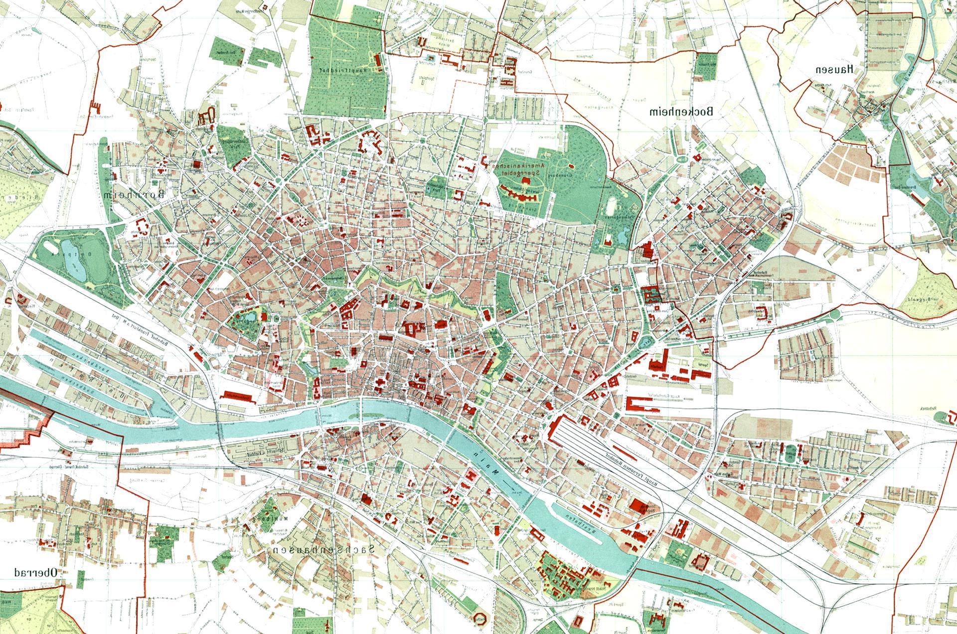 Karten Frankfurt