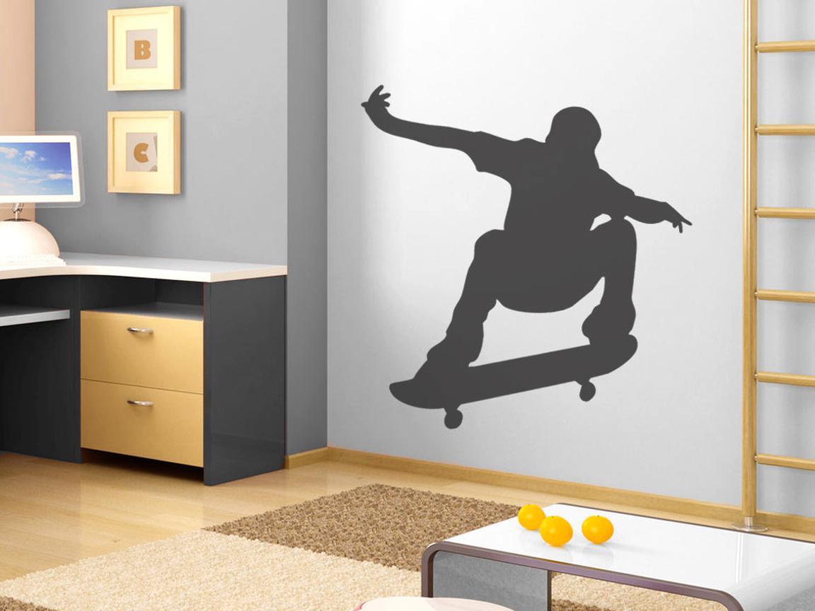 wandtattoo skateboard gebraucht kaufen