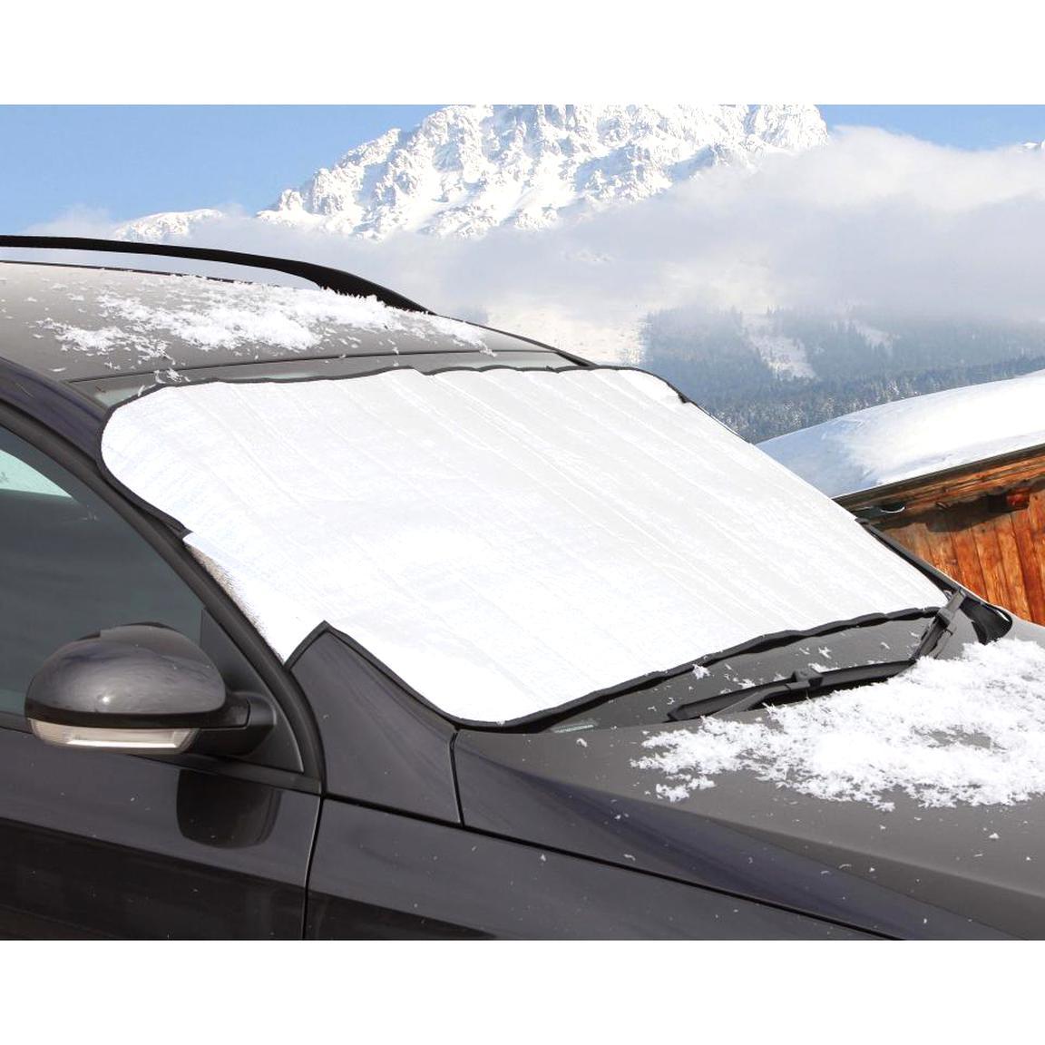 DKB ALU Frostschutz Schneeabdeckung für Windschutzscheibe Scheibenabdeckung