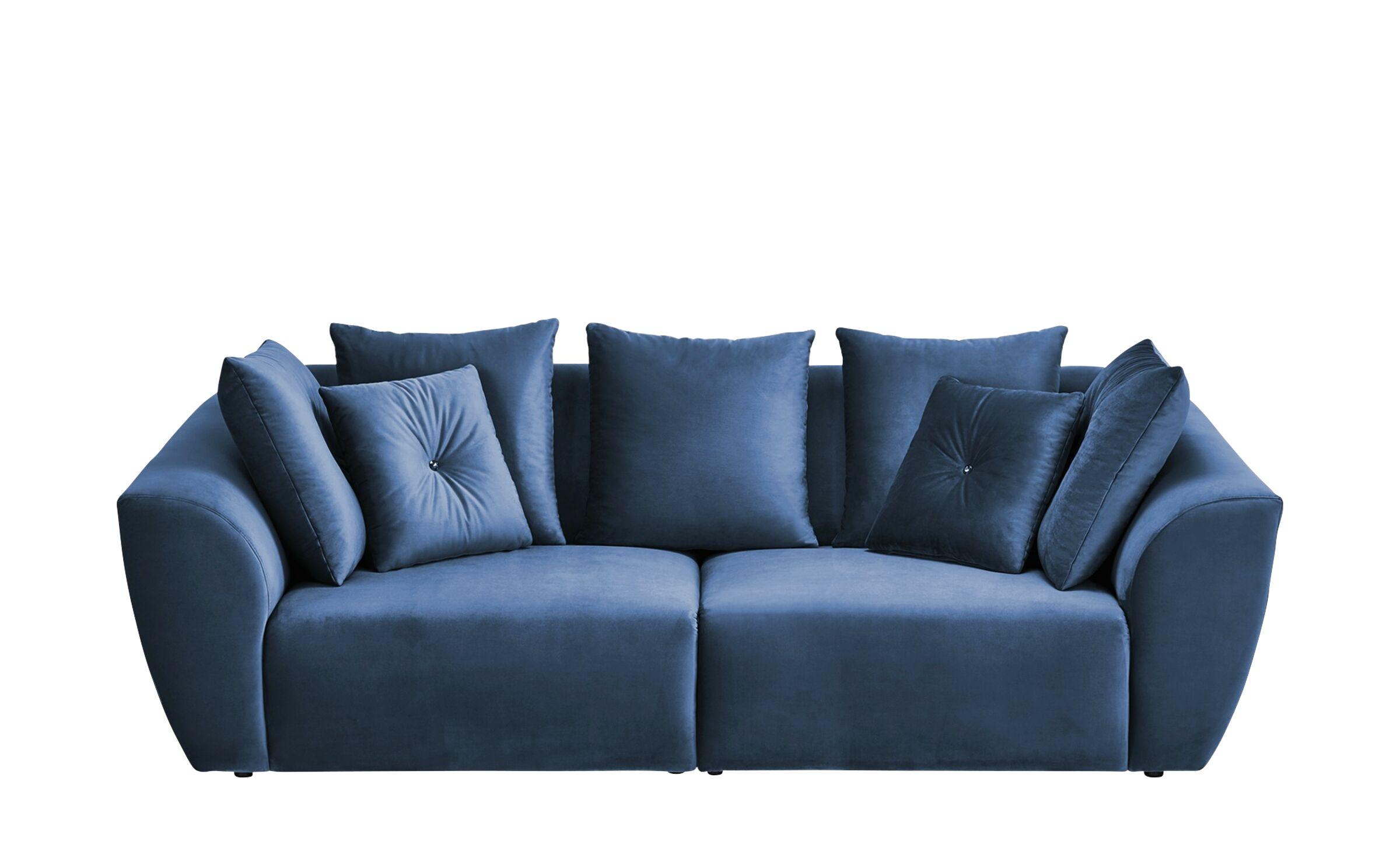 Big Sofa Blau gebraucht kaufen! Nur 4 St. bis -75% günstiger