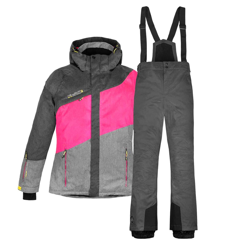 neues Erscheinungsbild Sportschuhe klar in Sicht skianzug damen gr 42