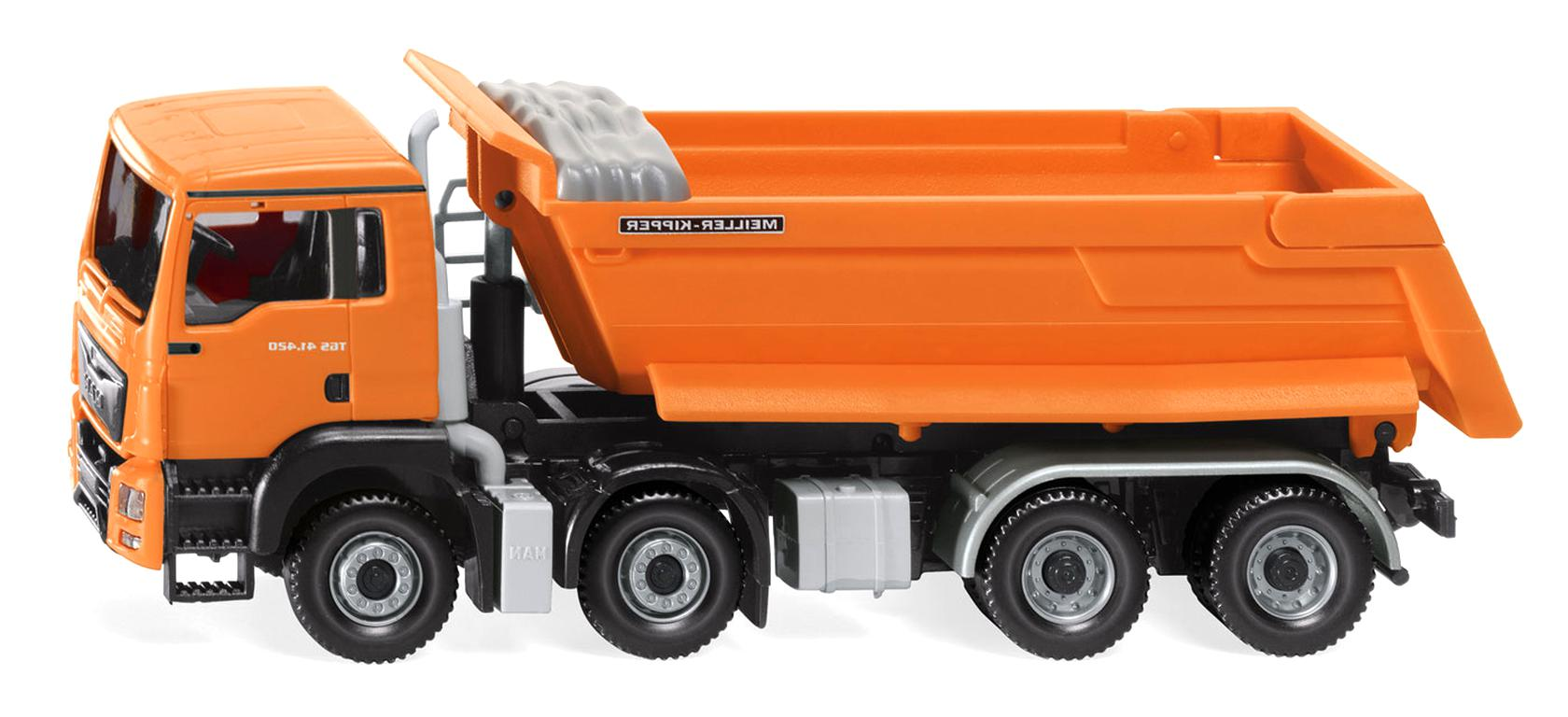 1//87 Wiking MAN Muldenkipper orange 671 1 A