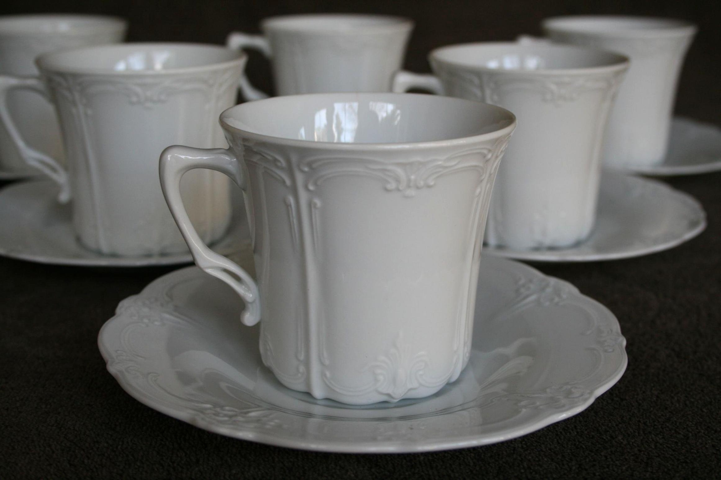 Kaffeetasse mit Untere Tirschenreuth Baronesse Orleans