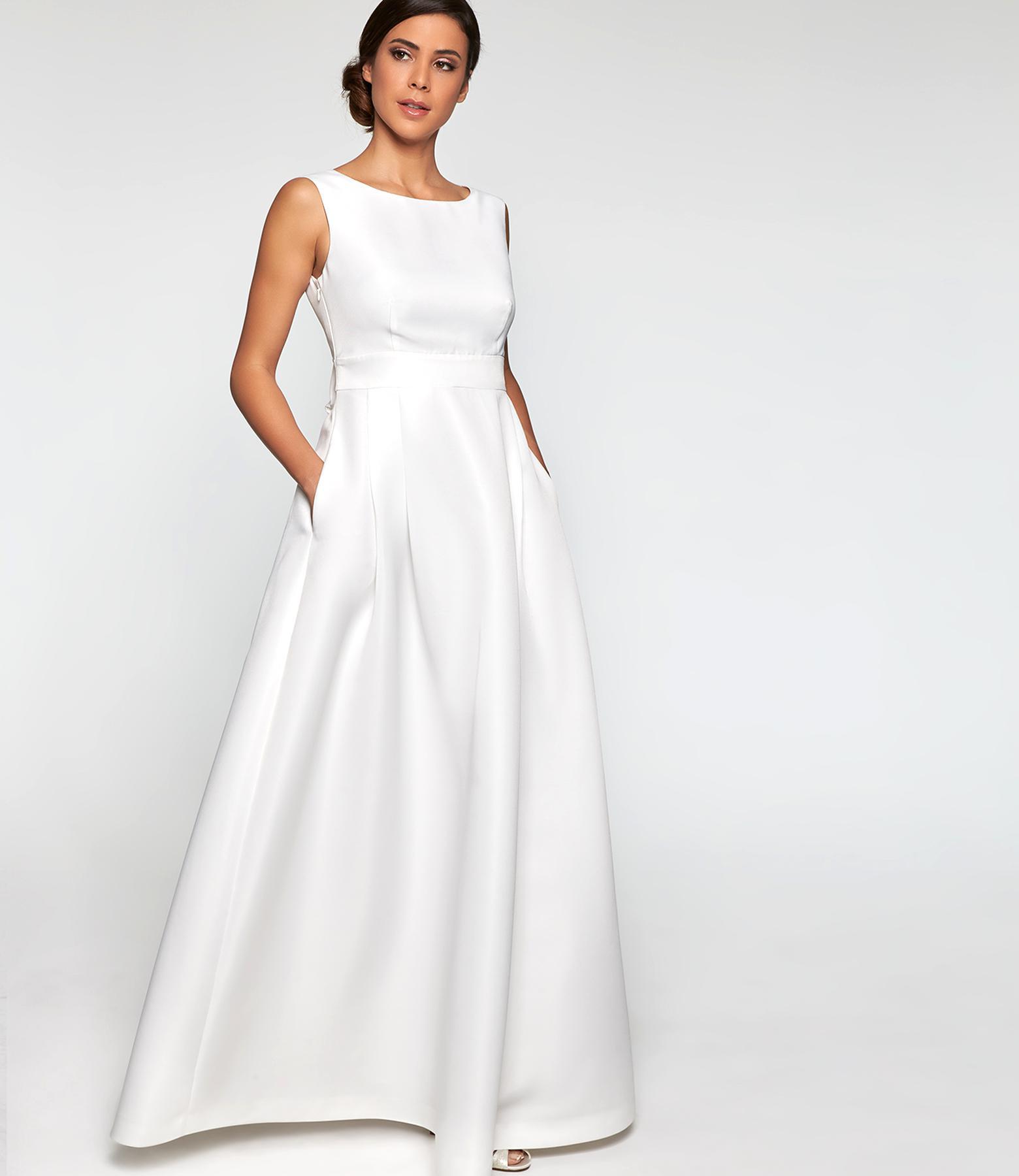 Apart Kleid Hochzeitskleid Standesamt Gr. 15 hellb