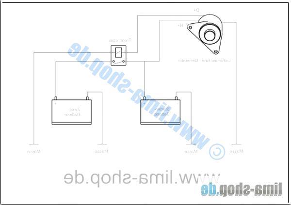 Startrelais Trennrelais 12V//200A Boot Camping Bus KFZ Für Zusatz-Batterie Relais