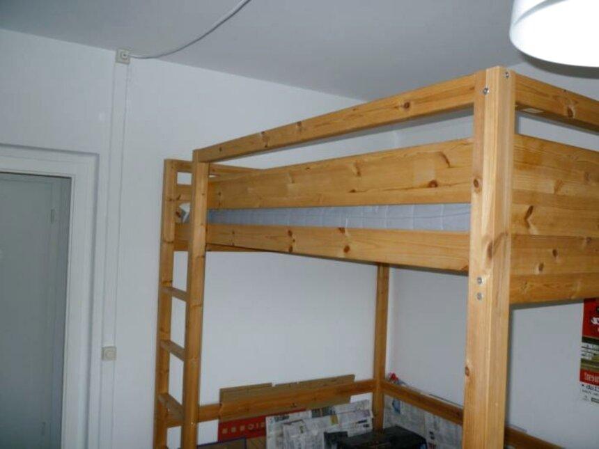 Hochbett Holz 140 X 200 gebraucht kaufen! Nur 3 St. bis ...