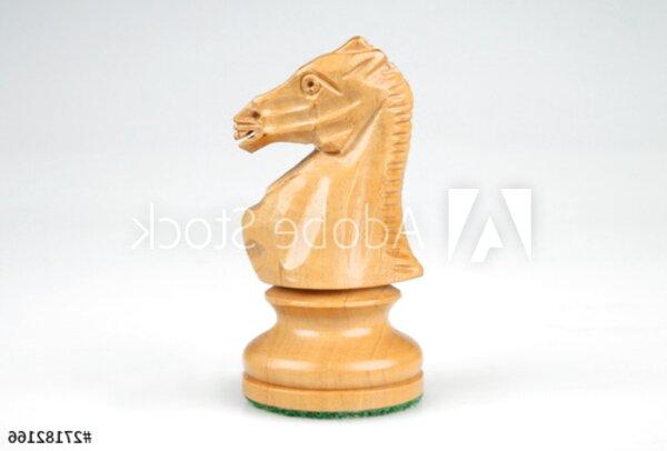 Schachspiel Figur Pferdefigur Schach Springer Pferd Skulptur Schachfigur 33cm