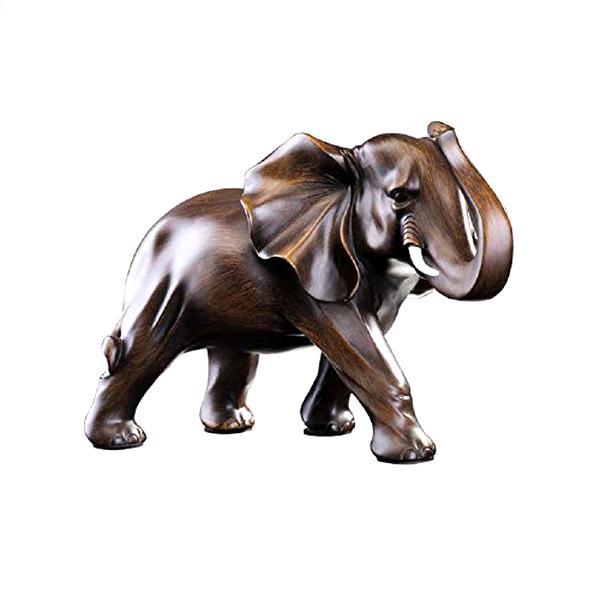 Elefant de luxe hellbraun 5,5 cm x 3,5 cm von Goebel