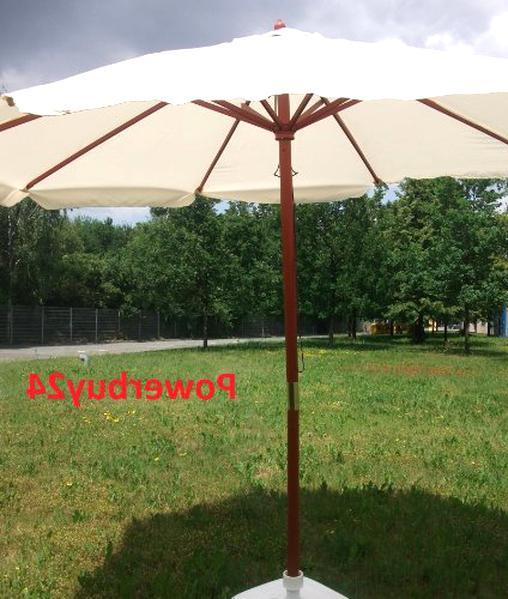 Schutzhülle 20kg Fuß NEU 2x3 m Marktschirm Marktstand Schirm Sonnenschirm inkl