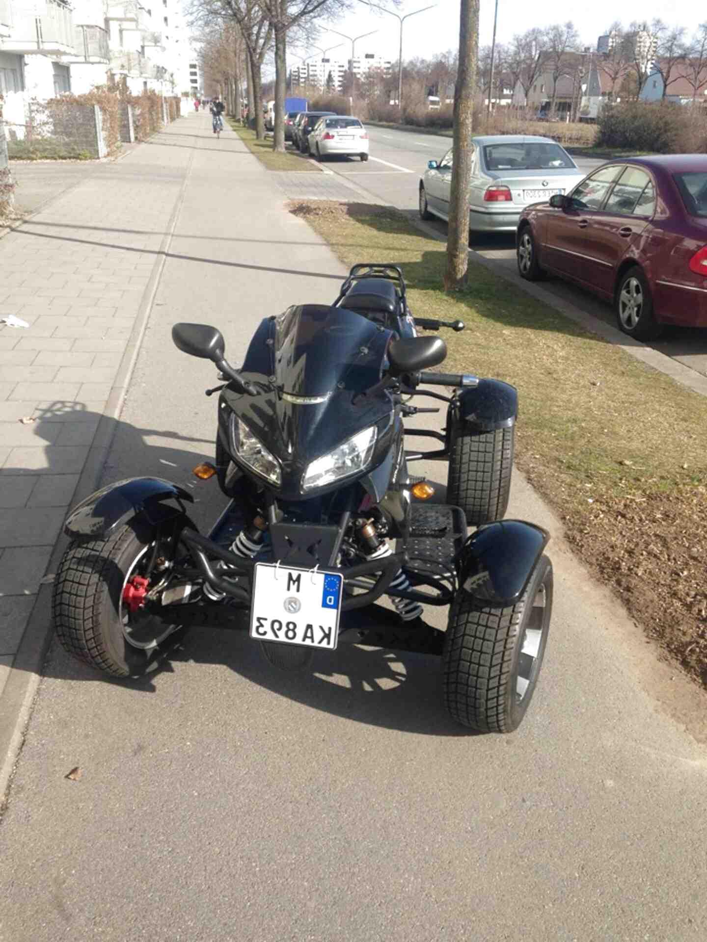 quad motorrad gebraucht kaufen