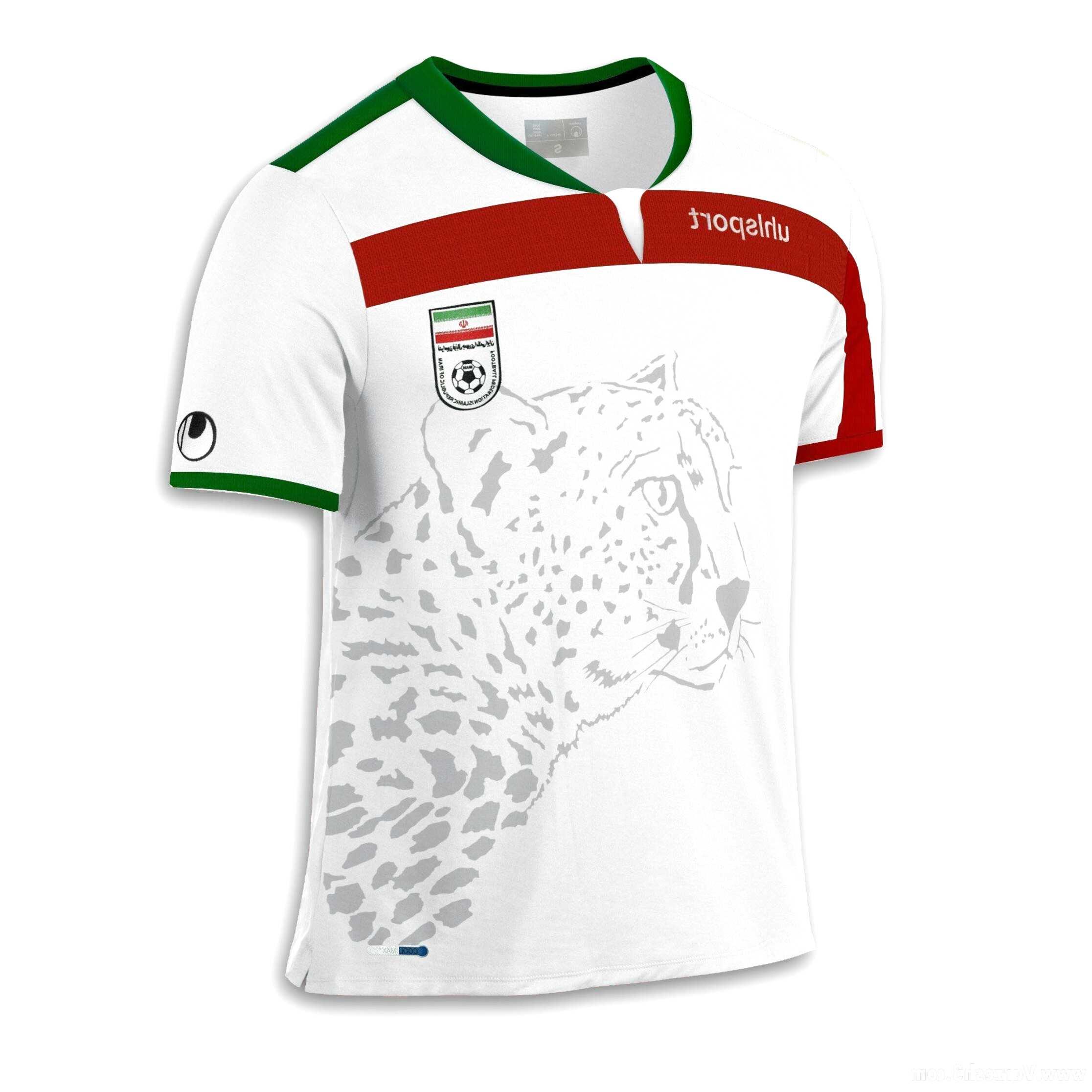 Iran WM 2018 Kinder n-13 W T-Shirt Trikot Fußball
