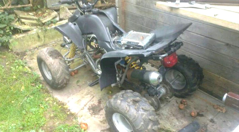 quad defekt gebraucht kaufen