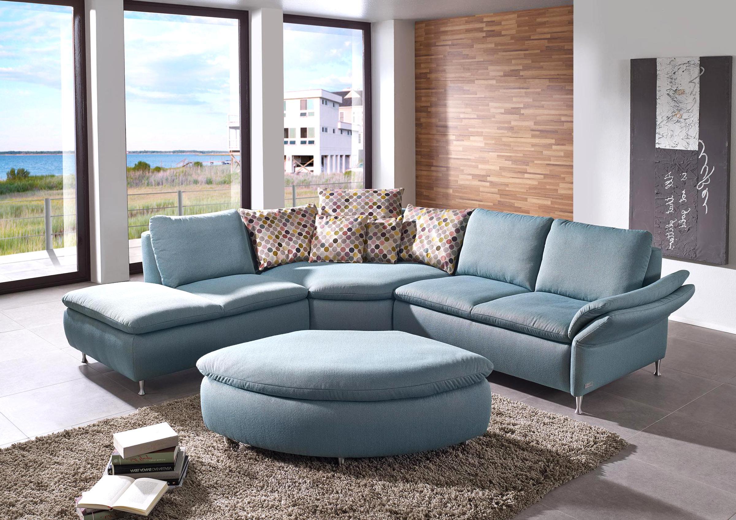 Couchgarnitur Rundecke mit 19 Sessel
