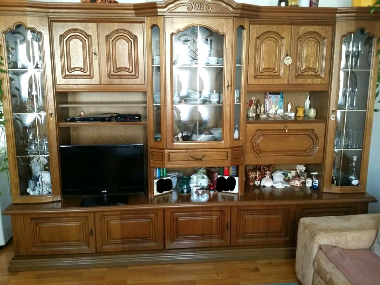 Wohnzimmerschrank Eiche Rustikal gebraucht kaufen! Nur 10 St. bis