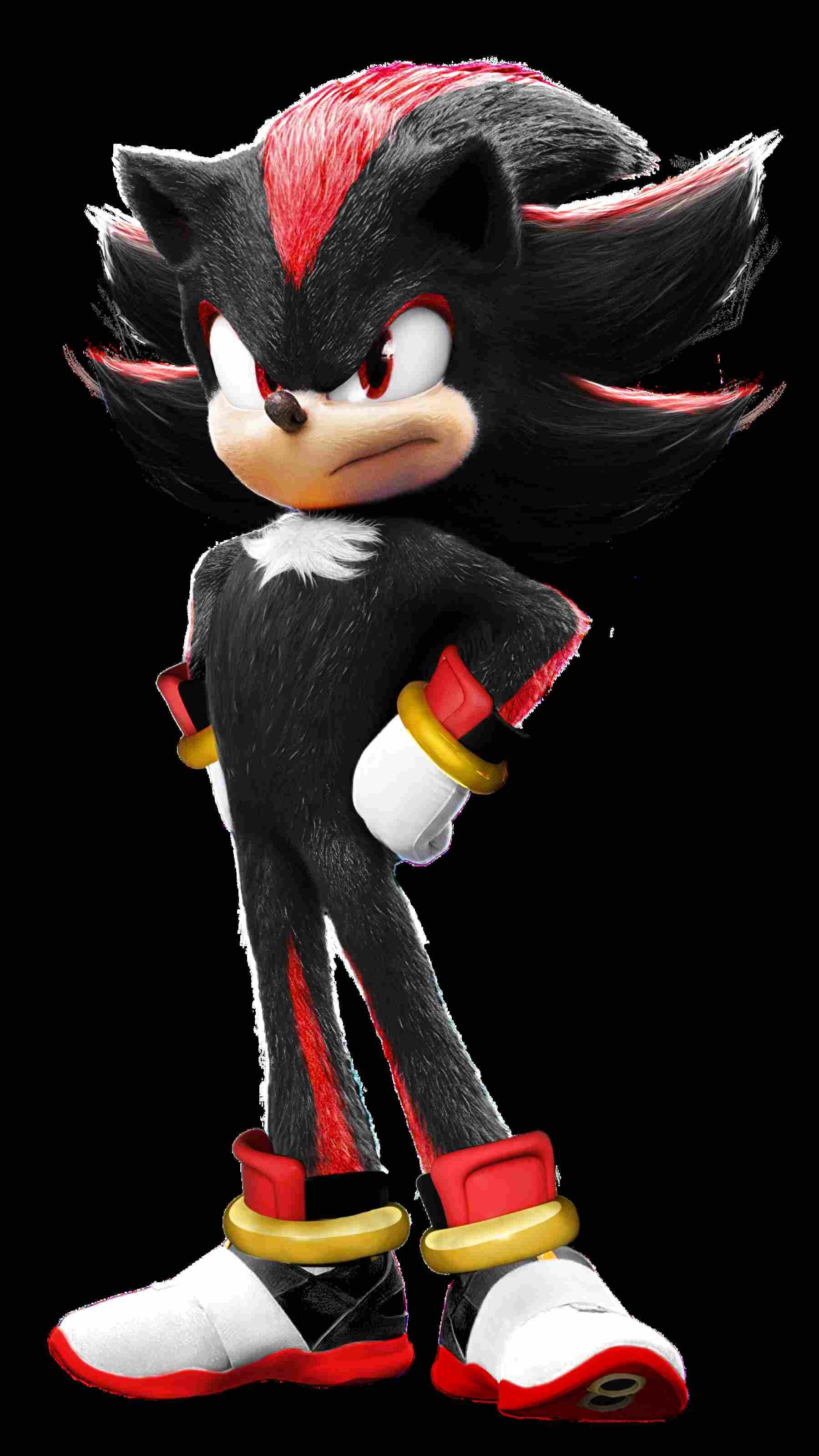 Sonic the Hedgehog Shadow 30.5cm Plüschtier Spielzeug Schwarz Charakter