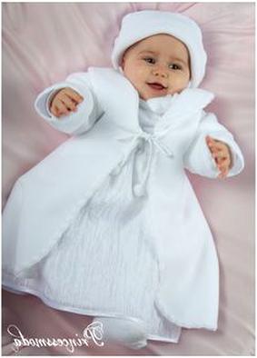MB20 WINTER Mantel Baby zum Taufkleid Taufmantel creme gefüttert Taufe NEU