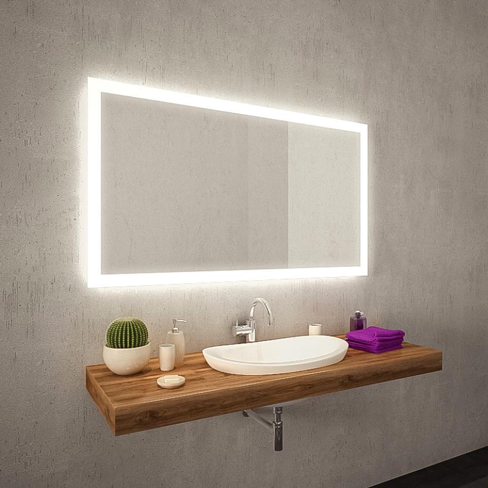 badspiegel ohne beleuchtung ebay