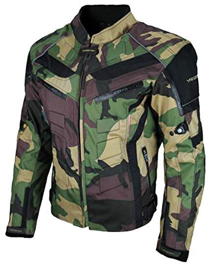 4XL HEYBERRY Motorrad Jacke Motorradjacke Camouflage Woodland Gr