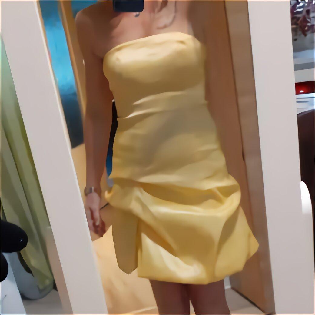 ballkleid gelb