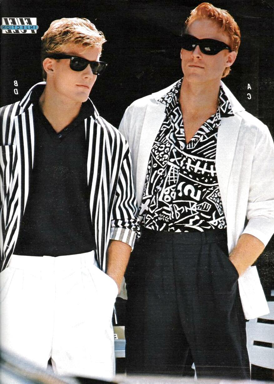 Ideen männer outfit 80er-jahre 80er Jahre