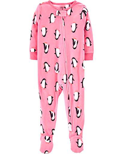 Strampler~62-68~USA~Little Wonders~Schlafanzug~Dino~Fleece~Einteiler~Füßen~Neu~