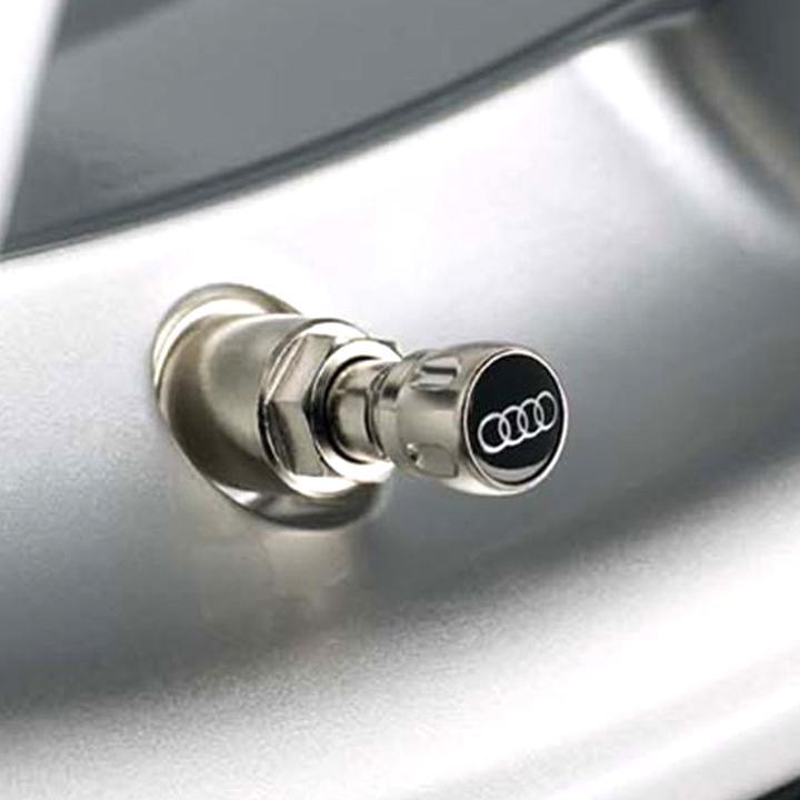 S-line Autoreifen Ventilkappen mit Reifenmarkierung Für Audi A3 A4 A5 Q3 Neu