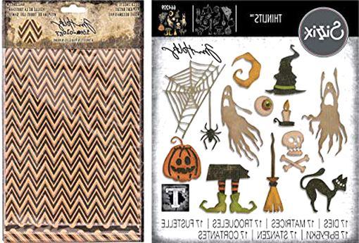 Sizzix Thinlits Stanzer Set 11tlg Weihnachtsmann Helfer by Tim Holtz