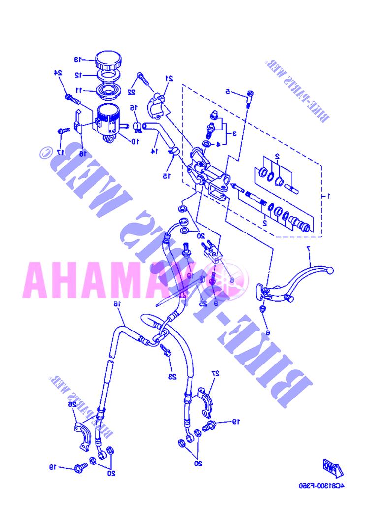 yamaha r1 bremspumpe gebraucht kaufen