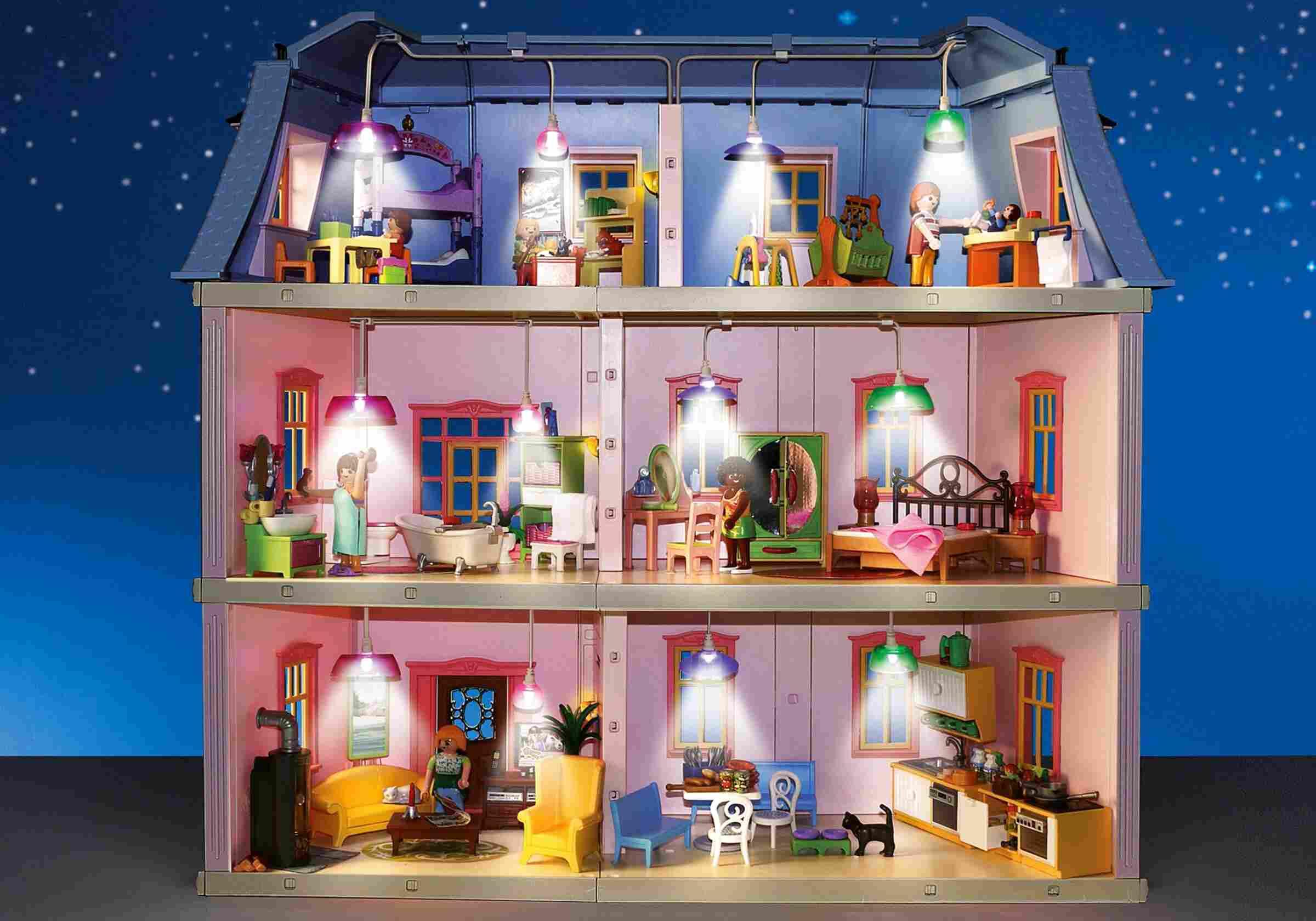Playmobil Haus Mit Licht