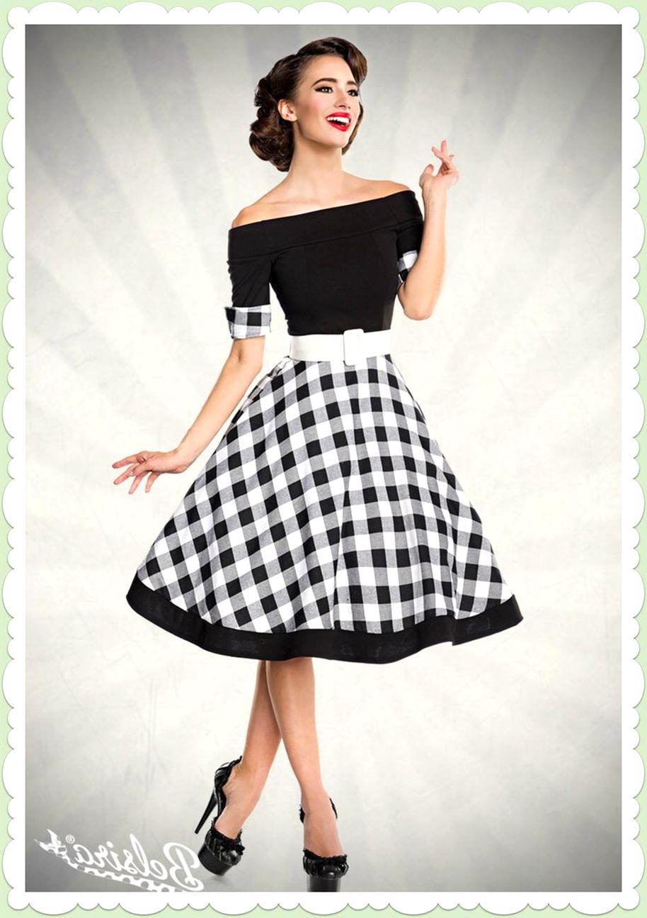 swing kleid petticoat rockabilly 50er jahre kostüm