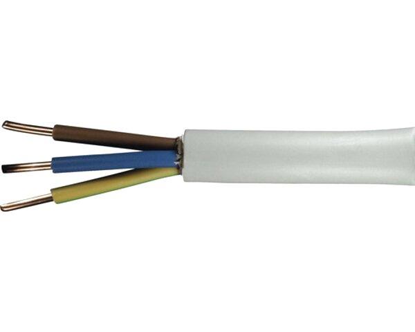 NYM 3x1,5 3x2,5 5x1,5 5x2,5 7x1,5 Meterware 15m Zuschnitt NYM-J Kabel Leitung
