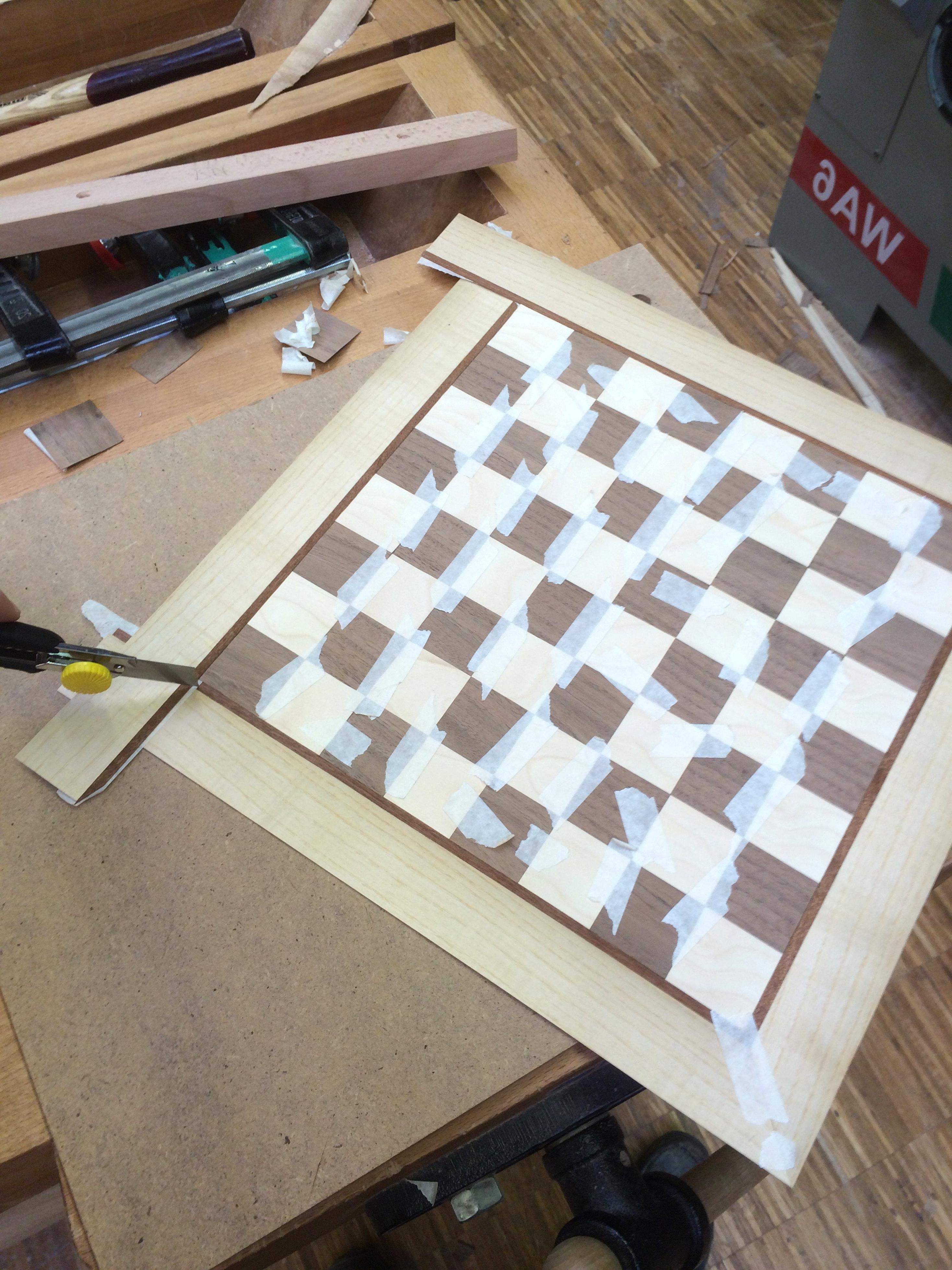 Furnierreste Intarsien Basteln Modellbau 50 verschiedene Holzarten