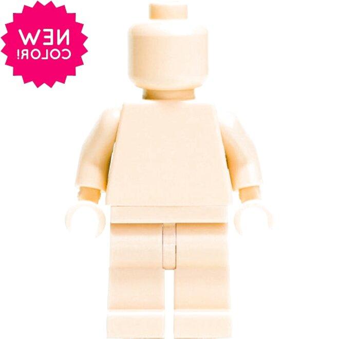 hautfarben ** Lego Kopf 4 10 Stück Star Wars light flesh