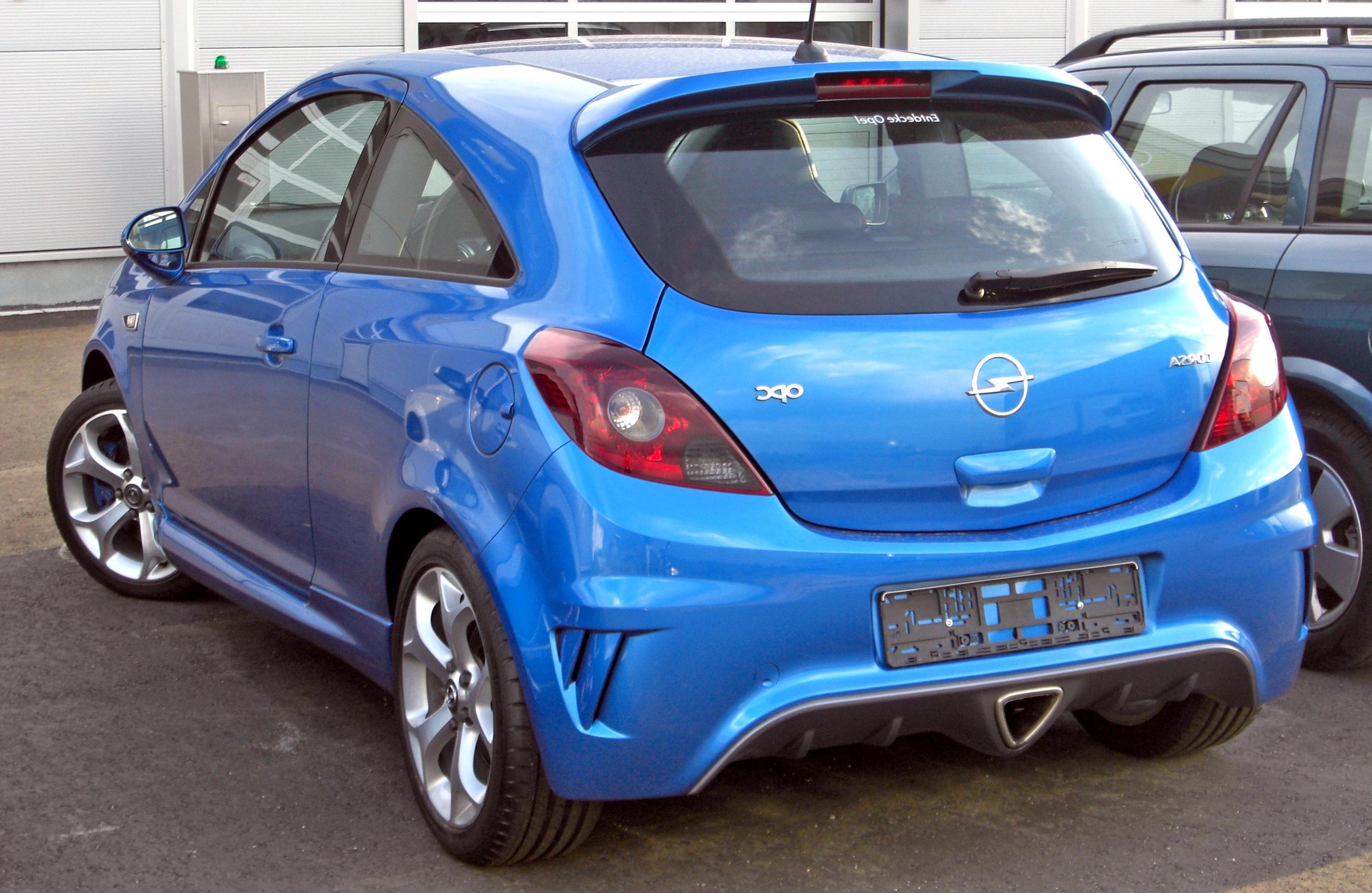 Opel D Corsa Opc gebraucht kaufen! Nur 2 St. bis -75% ...