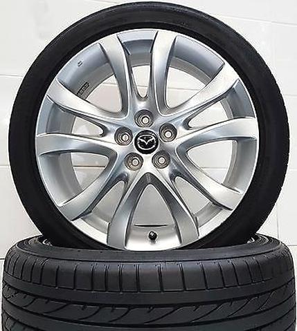20 Radmuttern Mazda Kegelbund für originale Mazda Alu Felgen M12x1,5