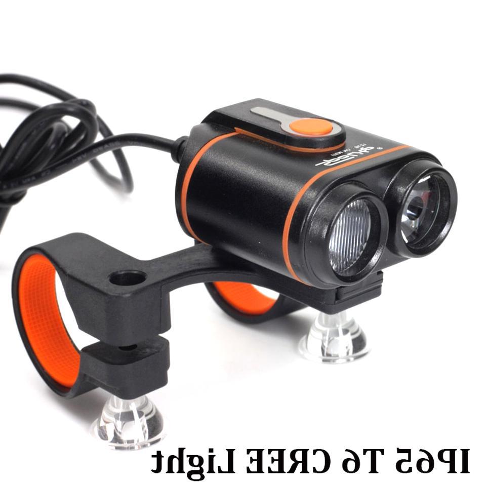 LED Fahrradbeleuchtung Taschenlampe Licht USB Wasserdicht Frontlicht beleuchtung