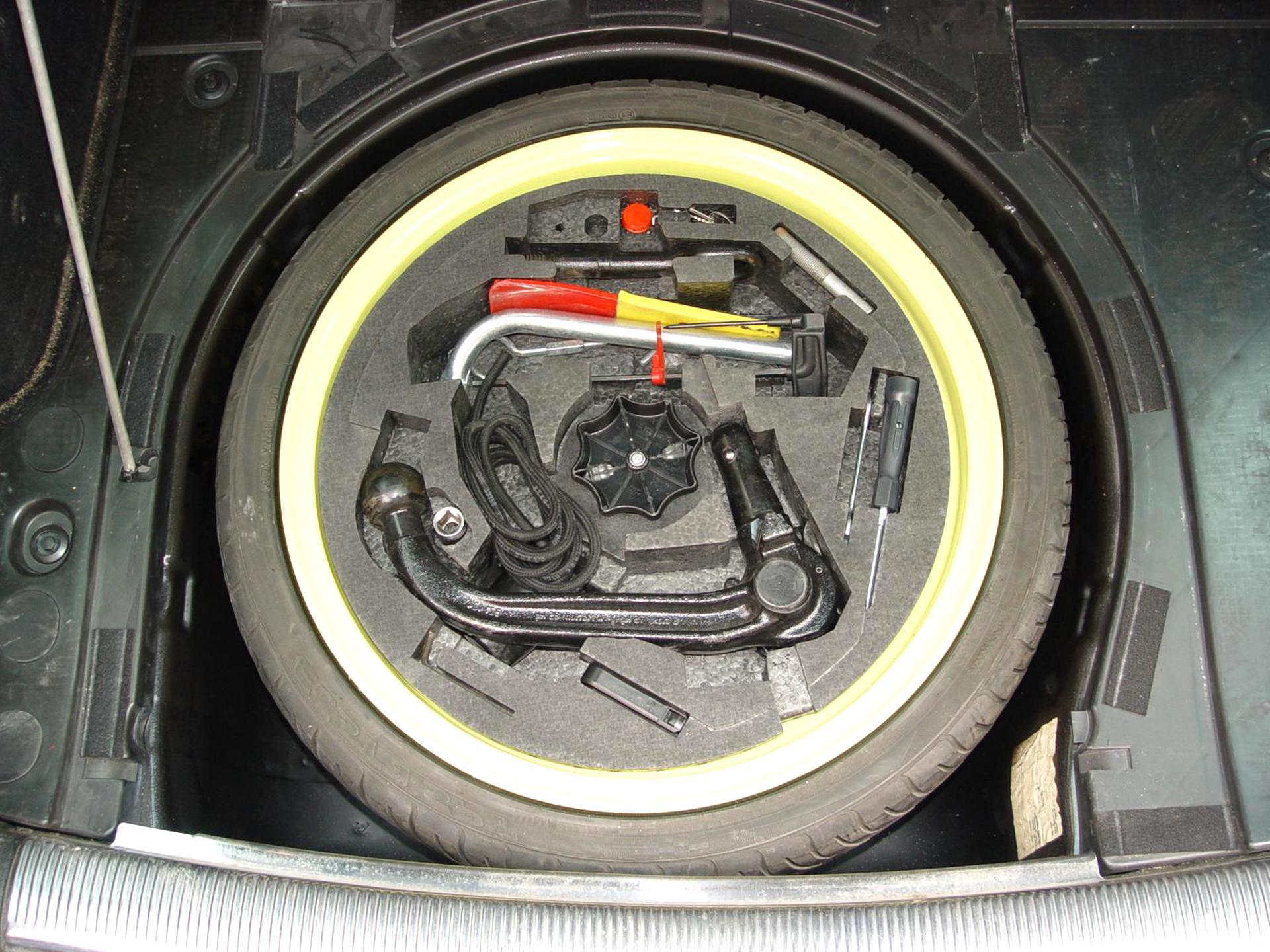 Wagenheber  VW Passat B8 Bordwerkzeug