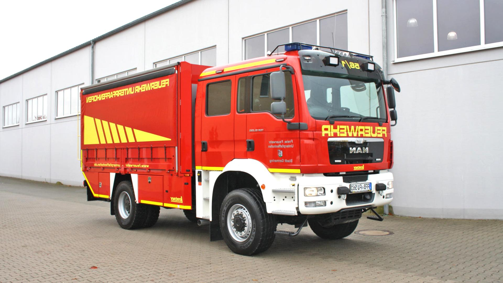 Feuerwehr Lkw gebraucht kaufen! 2 St. bis -60% günstiger