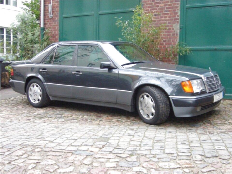 Türdichtung Kantenschutz Mercedes W124 CE Coupe Cabrio Vorne Links Grau
