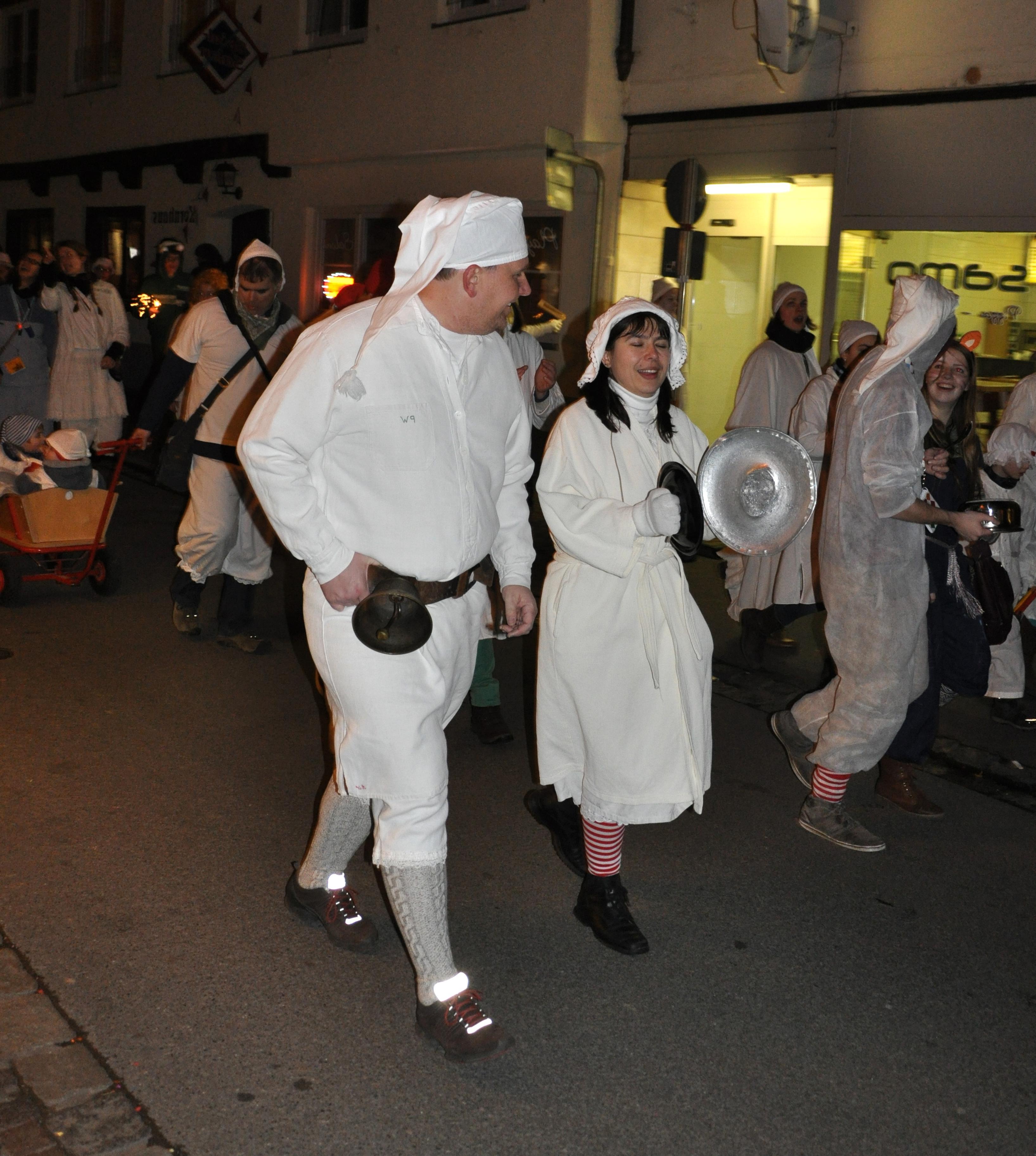 Glunker Fastnacht Hemd Kinder Schlafmütze zum Karnevalsnachthemd